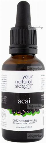 Your Natural Side - 100% naturalny olej z Acai - 30 ml