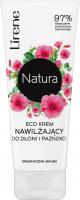 Lirene - Natura - Eco krem serum nawilżający do dłoni i paznokci - Organiczna Malwa - 75 ml