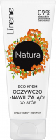 Lirene - Natura - Eco nourishing and moisturizing foot cream - Organic Sea Buckthorn - 75 ml