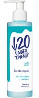UNDER TWENTY - ANTI ACNE CLEANSING MATTING GEL - Cleansing and matting face wash gel - 200 ml