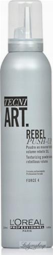 L'Oréal Professionnel - TECNI ART. REBEL PUSH-UP Texturizing Powder In Mousse - Hair texture mousse powder - 250 ml