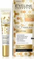 Eveline Cosmetics - BIO MANUKA BEE LIFT TOX - Odżywczo-Wygładzający Krem Kuracja pod oczy i na powieki - 50+/70+