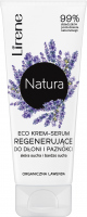 Lirene - Natura - Eco cream regenerating serum for hands and nails - Dry and very dry skin - Lavender - 75 ml