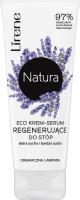Lirene - Natura - Eco krem serum regenerujące do stóp - Skóra sucha i bardzo sucha - Lawenda - 75 ml