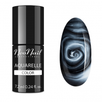 NeoNail - Aquarelle Color - Lakier Hybrydowy - 6 ml i 7,2 ml - 5503-7 - White Aquarelle - 5503-7 - White Aquarelle