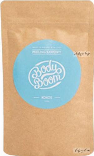 BodyBoom - Peeling Kawowy - Kokos - 100 g