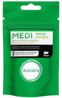 Ecocera - MEDI MASK WITH ACTIVATED CHARCOAL - Maska z węglem aktywnym - 50 g