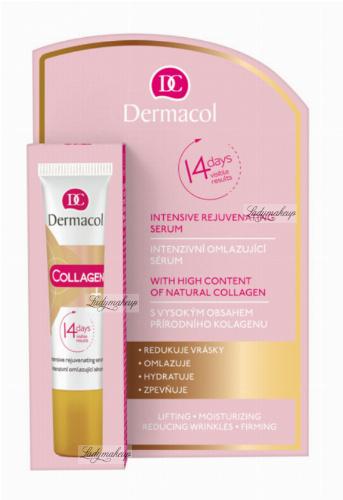 Dermacol - Collagen + Intensive Rejuvenating Serum - Rejuvenating collagen face serum - 12 ml