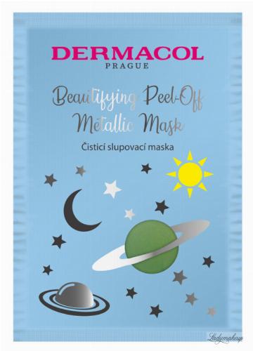 Dermacol - Beautifying Cleansing Peel-Off Metallic Mask - Oczyszczająca maska do twarzy - Peel Off