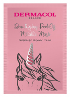 Dermacol - Beautifying Brightening Peel-Off Metallic Mask - Rozjaśniająca maska do twarzy - Peel Off