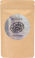 BodyBoom ​​- COFFEE SCRUB - ACTIVE CHARCOAL - Coffee body scrub with active carbon - MAGIC CARBON - 100 g