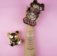 I Heart Revolution - Toy Factory Teddy Bear Palette - Paleta cieni do powiek - Honey