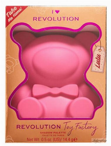 I Heart Revolution - Toy Factory Teddy Bear Palette - Paleta cieni do powiek - Lulu