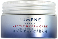 LUMENE - ARKTIS - ARCTIC HYDRA CARE - RICH DAY CREAM - Moisturizing and soothing rich face cream for the day - 50 ml