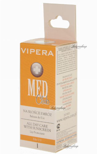 Vipera - Med Club - Balsam do ust NA SŁOŃCE I MRÓZ 1