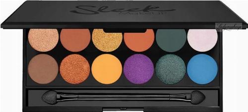 Sleek - i-Divine Mineral Based Eyeshadow Palette - Paleta 12 cieni do powiek - 1287 COLOUR CARNAGE