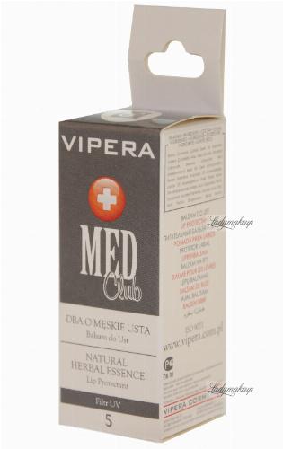 Vipera - Med Club - Balsam do ust DBA O MĘSKIE USTA 5