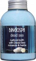 BINGOSPA - Dead Sea - Rustical Bath - Rustykalna kąpiel z minerałami z Morza Martwego i ziołami - 620 g