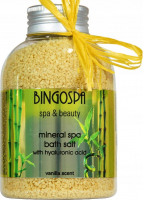 BINGOSPA - Spa & Beauty - Mineral Spa Bath Salt - Mineral bath salt with hyaluronic acid - 650 g