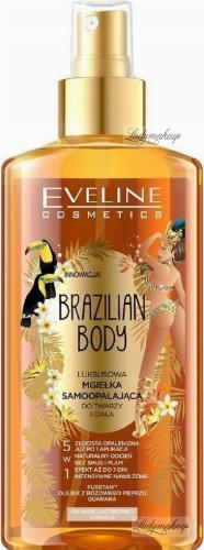 EVELINE - BRAZILIAN BODY - Luksusowa mgiełka samoopalająca do twarzy i ciała 5w1 - 150 ml