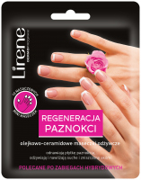 Lirene - NAIL REGENERATION - Oil-ceramide nourishing masks for nails - 10 pcs.