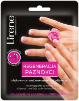 Lirene - REGENERACJA PAZNOKCI - Olejkowo-ceramidowe maseczki odżywcze do paznokci - 10 szt.