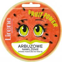 Lirene - FRUIT POWER - Żelowa maseczka do twarzy - Arbuzowa - 10 ml