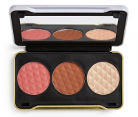 MAKEUP REVOLUTION - Patricia Bright - You Are Gold Face Palette - Face contouring palette