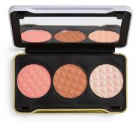 MAKEUP REVOLUTION - Patricia Bright - Summer Sunrise Face Palette - Paleta do konturowania twarzy