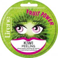 Lirene - FRUIT POWER - Złuszczający peeling do twarzy - Kiwi