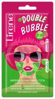 Lirene - DOUBLE BUBBLE - PINK & GREEN - Maska glinkowa do twarzy z CICA - 2x5 g
