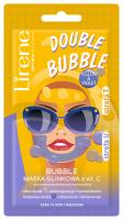 Lirene - DOUBLE BUBBLE - YELLOW & VIOLET - Maska glinkowa do twarzy z witaminą C- 2x5 g