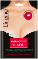 Lirene - SMOOTHED DECOLETTE - Rejuvenating and brightening neckline mask