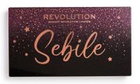 MAKEUP REVOLUTION - Sebile Night 2 Night Shadow Palette - Paleta 18 cieni do powiek