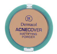 Dermacol - Acnecover Mattifying Powder - HONEY - HONEY