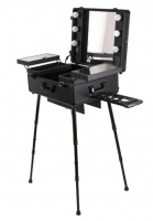 Portable make-up table / Makeup artist stand DB-2008HB-3 - Black