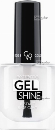 Golden Rose - Extreme Gel Shine Instant Base Coat - Żelowa baza pod lakier do paznokci