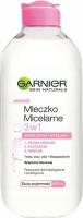 GARNIER - Mleczko micelarne 3w1 - Skóra sucha i wrażliwa - 400 ml