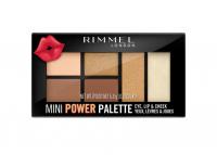 RIMMEL - MINI POWDER PALETTE - Mini paleta do makijażu oczu, ust i policzków - 002 SASSY