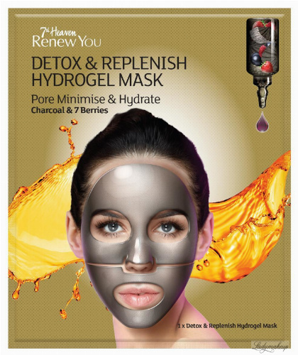 7th Heaven (Montagne Jeunesse) - Renew You - Detox & Replenish Hydrogel Mask
