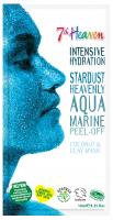 7th Heaven (Montagne Jeunesse) - Intensive Hydration Stardust Heavenly Aqua Marine - Peel Off - Nawilżająca maseczka do twarzy niebiańska akwamaryna - Peel Off