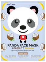 7th Heaven (Montagne Jeunesse) - PANDA FACE MASK - Moisturizing face mask in sheets - Coconut & Banana
