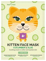 7th Heaven (Montagne Jeunesse) - KITTEN FACE MASK - Soothing face mask in sheets - Cucumber & Aloe