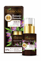 Bielenda - Botanic Formula - Moisturizing Face Serum - Hemp + Saffron - Moisturizing face serum - Hemp + Saffron - 15 ml