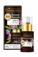 Bielenda - Botanic Formula - Moisturizing Face Serum - Hemp + Saffron - Nawilżajace serum do twarzy - Konopie + Szafran - 15 ml