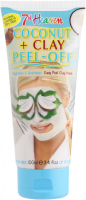 7th Heaven (Montagne Jeunesse) - Coconut + Clay Peel Off - Maseczka typu z olejem kokosowym - Peel Off