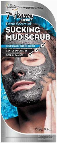 7th Heaven (Montagne Jeunesse) - Sucking Mud Scrub for Men - Mud scrub for men