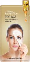 7th Heaven (Montagne Jeunesse) - Renew You - Pro Age Deep Skin Balance - Bamboo Sheet Mask - Bamboo face mask