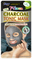 7th Heaven (Montagne Jeunesse) - Charcoal Tonic Mask - Oczyszczająco-regenerująca maska do twarzy w płacie