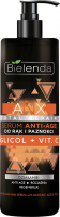 Bielenda - ANX Total Repair - Hand and Nail Serum with Glycolic Acid & Vit. C - Anti-age hand and nail serum - 200 ml